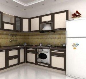 Кухня Адэль дуб венге - фотография №1
